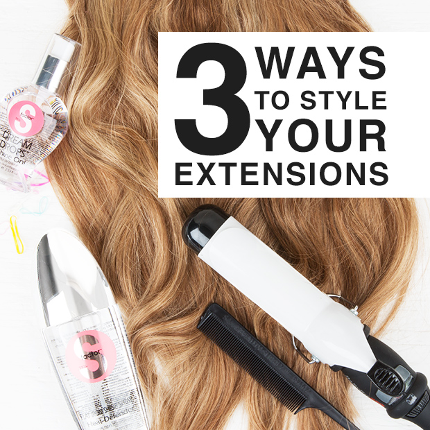 Styling Hair Extensions