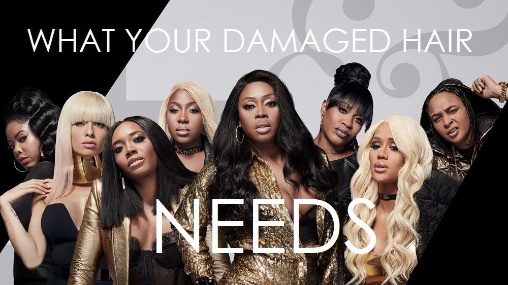 What your Damaged Hair Actually Needs