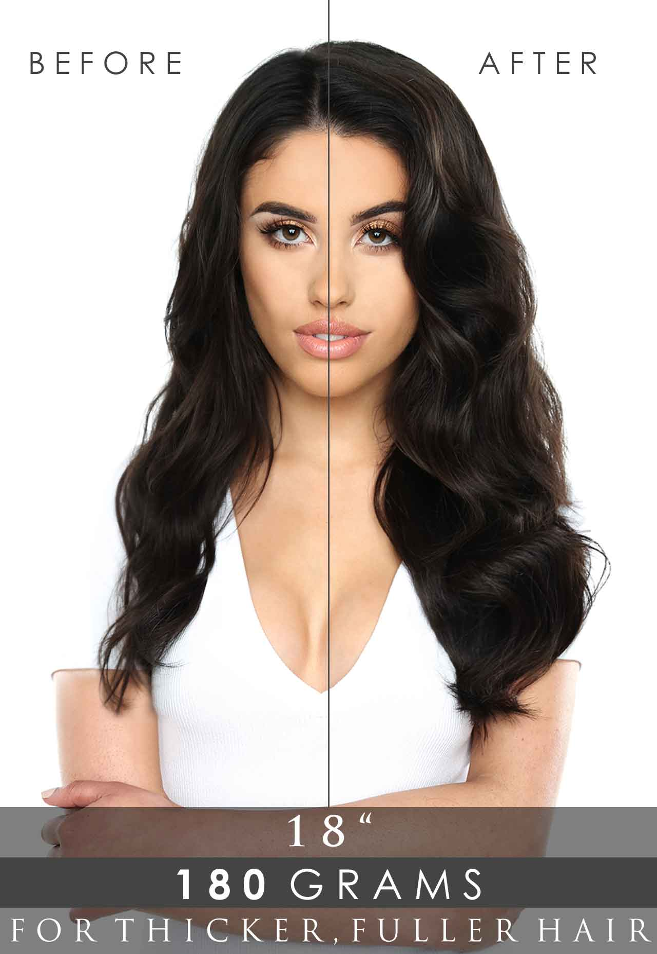 The Best Way to Blend Clip-in Hair Extensions (with Thin Hair)