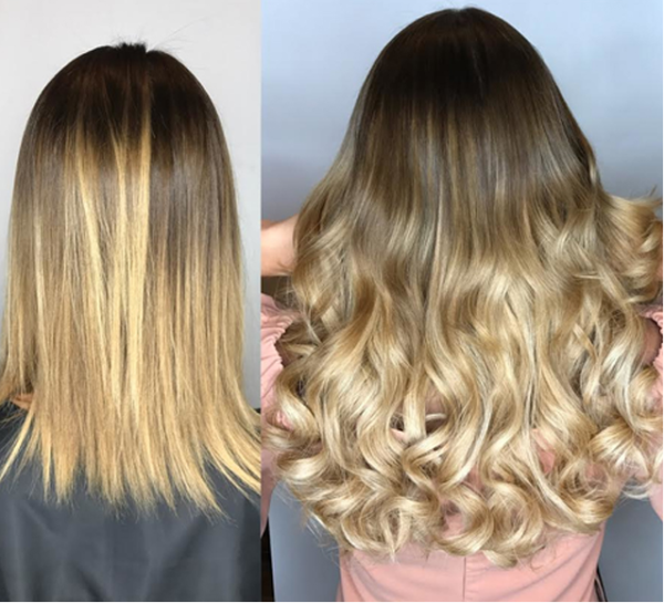 DIFFERENT HAIR EXTENSION METHODS