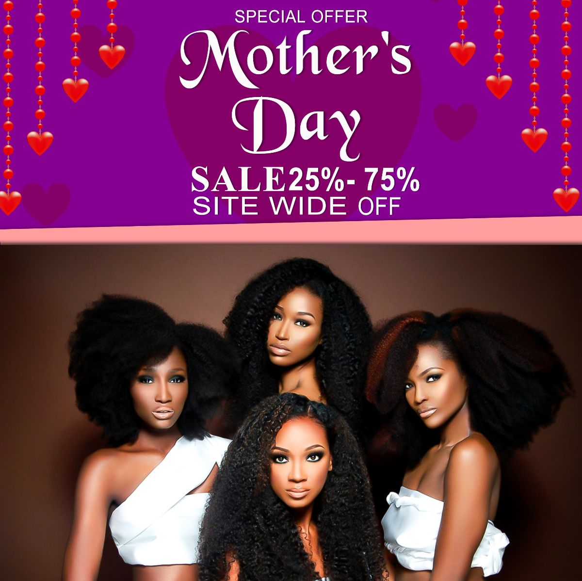 MOTHERS DAY HAIR EXTENSIONS