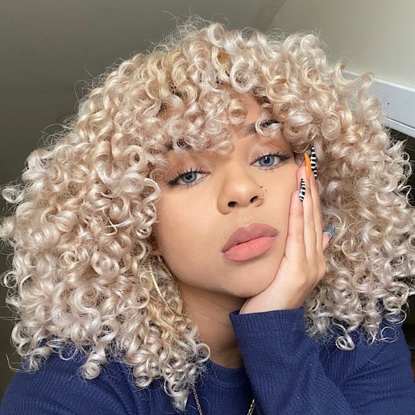 Caring for Your Blonde Curly Hair Extensions